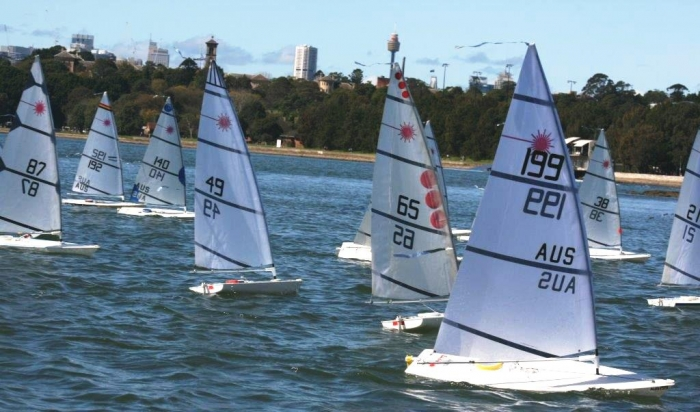 2015 RC Laser National Championships fleet