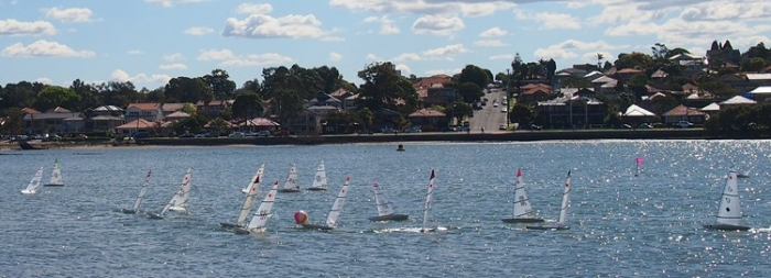 2015 RC Laser National Championships from club house