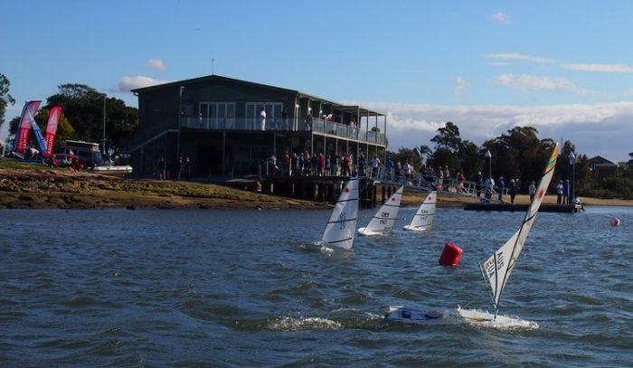 2015 RC Laser National Championships from the water
