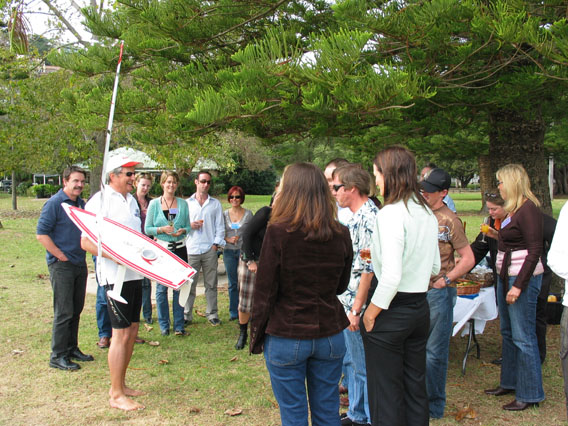 Radio Control Sailing Australia corporate events