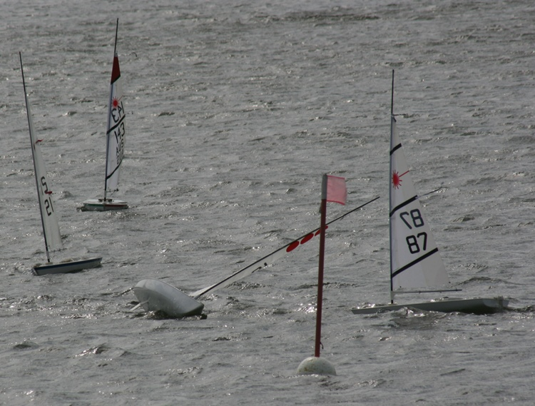 Rc Laser Sailing In Extreme Weather