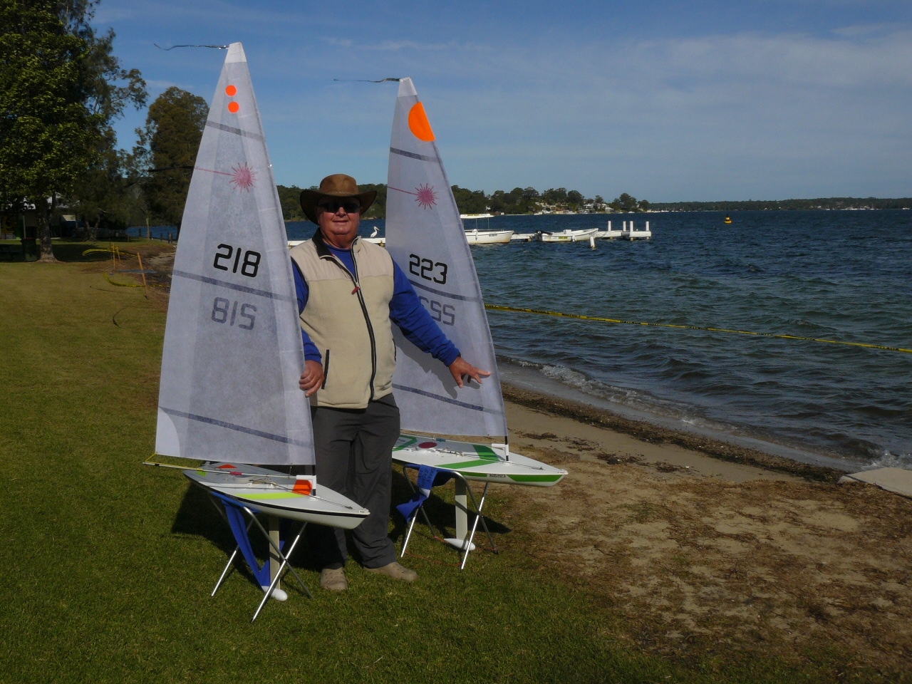 New RC Laser Club for the Central Coast