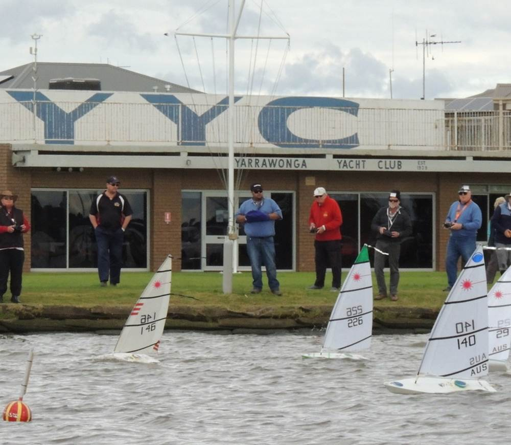 Radio Yachting at Yarrawonga