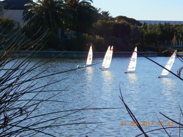 RC Laser Sailing South Australia